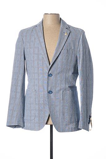 Veste chic / Blazer bleu BRECO'S pour homme