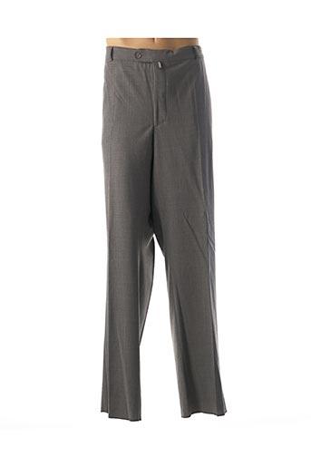Pantalon chic gris TRAFFIC pour homme