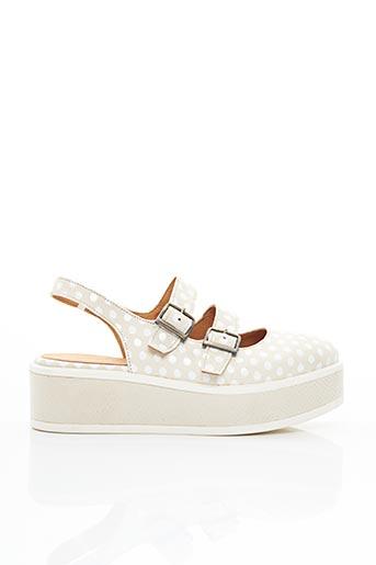 Sandales/Nu pieds beige MINKA DESIGN pour femme