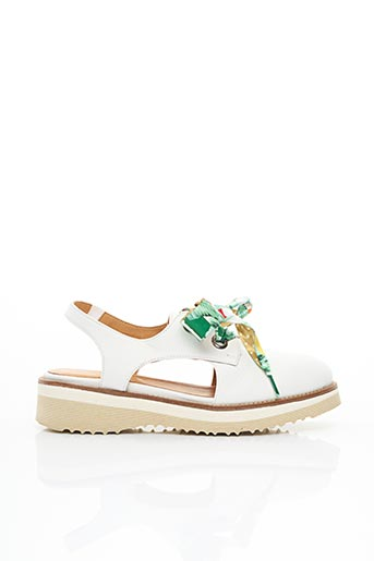 Sandales/Nu pieds blanc MINKA DESIGN pour femme