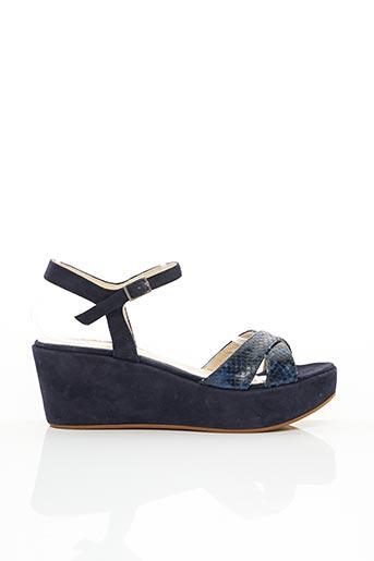 Sandales/Nu pieds bleu ADIGE pour femme