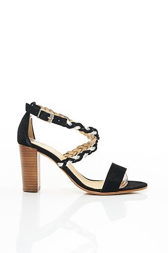 Sandales/Nu pieds noir ONE STEP pour femme