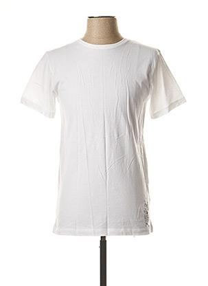T-shirt manches courtes blanc BECKARO pour enfant