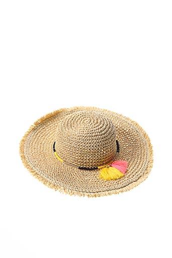 Chapeau beige CATIMINI pour fille