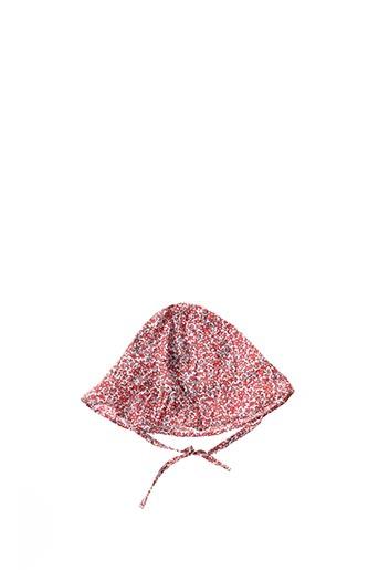 Chapeau rouge ABSORBA pour fille