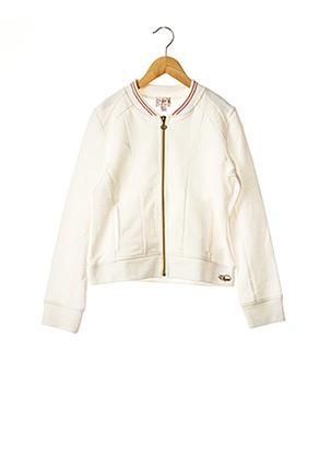 Veste casual blanc CHIPIE pour fille