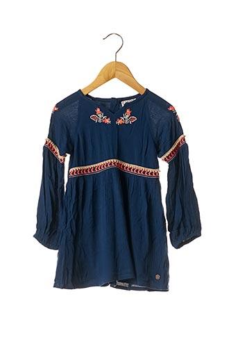Robe mi-longue bleu CHIPIE pour fille