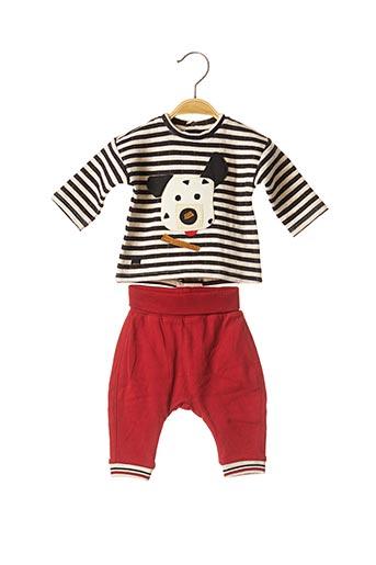 Top/pantalon rouge CATIMINI pour garçon