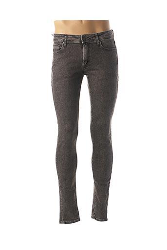 Jeans skinny noir JACK & JONES pour homme