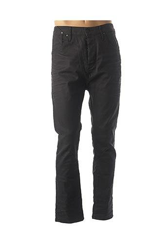 Pantalon casual noir JACK & JONES pour homme