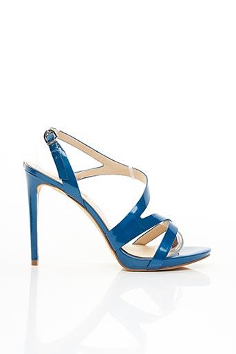 Sandales/Nu pieds bleu GUESS pour femme