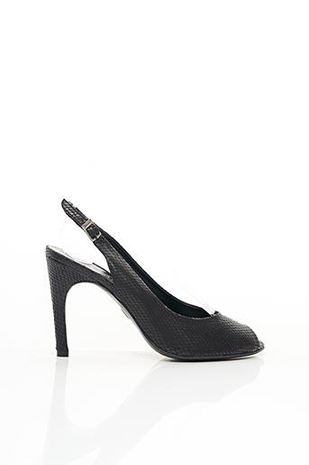 Sandales/Nu pieds noir FRANCOIS NAJAR pour femme