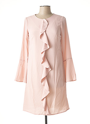 Robe courte rose HEINE pour femme