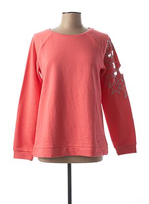 Sweat-shirt orange HEINE pour femme