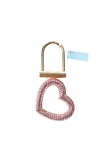 Porte-clé rose AMBROSIA PARIS pour femme