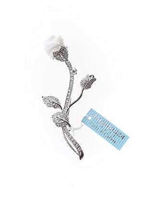 Broche blanc AMBROSIA PARIS pour femme