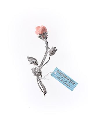 Broche rose AMBROSIA PARIS pour femme