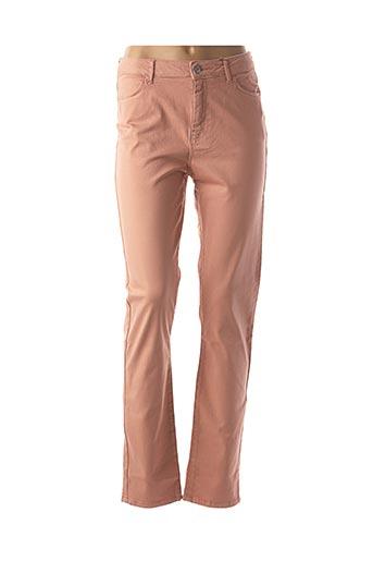 Pantalon casual rose KANOPE pour femme