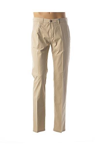 Pantalon casual beige PIONEER pour homme