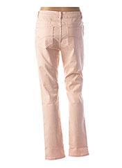 Pantalon casual rose DIANE LAURY pour femme seconde vue