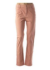 Pantalon casual rose KANOPE pour femme seconde vue