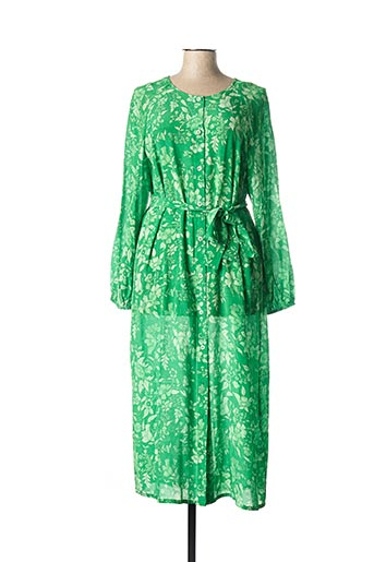 Robe longue vert ESSENTIEL ANTWERP pour femme