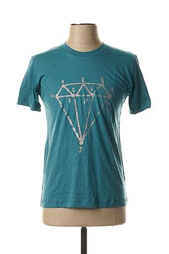 T-shirt manches courtes bleu SGIO pour homme