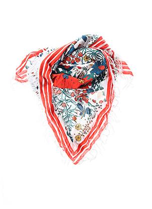 Foulard rouge LEON & HARPER pour femme