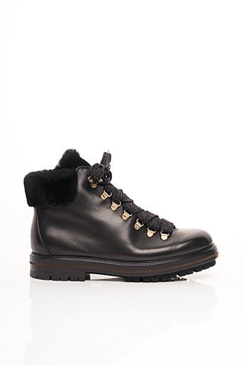 Bottines/Boots noir ATTILIO GIUSTI LEOMBRUNI pour femme