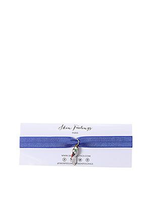 Collier bleu SKINFEELINGS pour fille