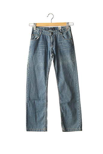 Jeans coupe droite bleu IKKS pour garçon