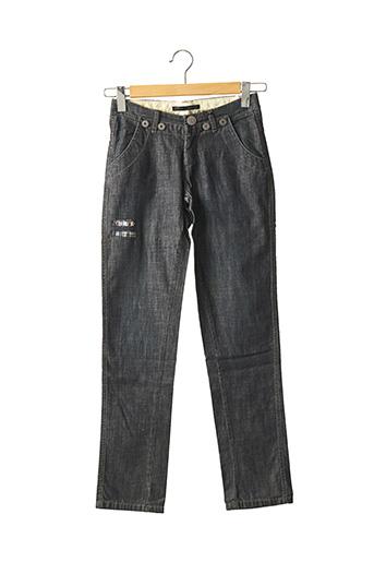 Jeans coupe slim bleu IKKS pour garçon