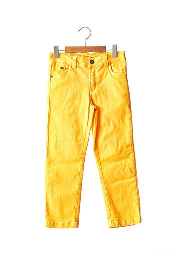 Jeans coupe slim jaune TUC TUC pour enfant