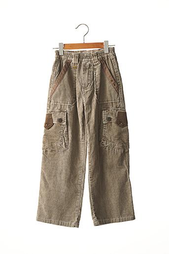 Pantalon casual gris CATIMINI pour garçon