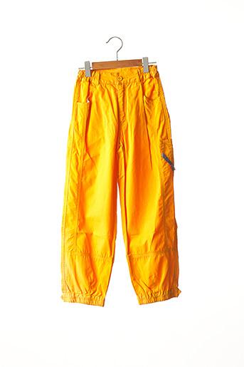 Pantalon casual jaune CATIMINI pour garçon