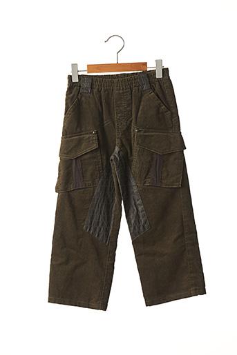 Pantalon casual vert CATIMINI pour garçon