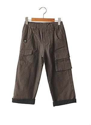 Pantalon casual marron CATIMINI pour garçon