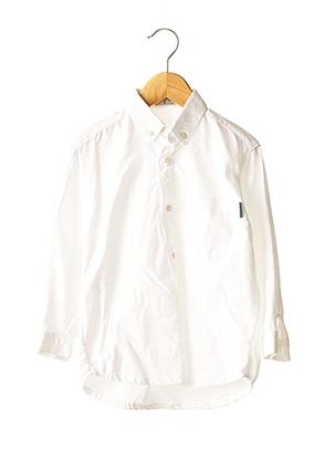 Chemise manches longues blanc PETIT BOY pour garçon