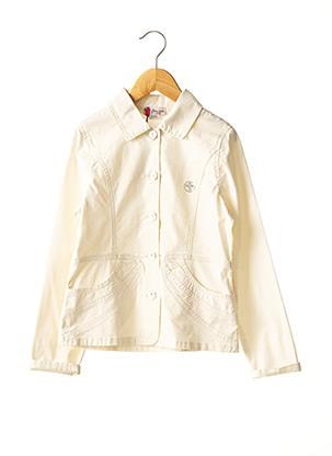 Veste casual beige FLORIANE pour fille