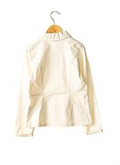 Veste casual beige FLORIANE pour fille seconde vue