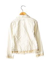 Veste casual beige JEAN BOURGET pour fille seconde vue