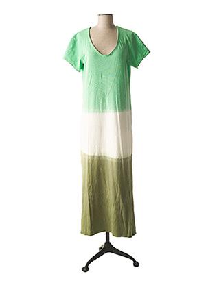 Robe longue vert ATELIER BOHÈME pour femme