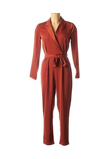 Combi-pantalon marron ONLY pour femme