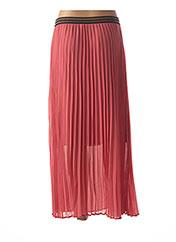 Jupe longue rose LA PETITE ETOILE pour femme seconde vue