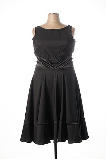 Robe mi-longue noir BELSIRA pour femme