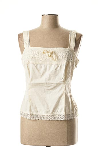 Top beige ALL BEAUTIFUL pour femme