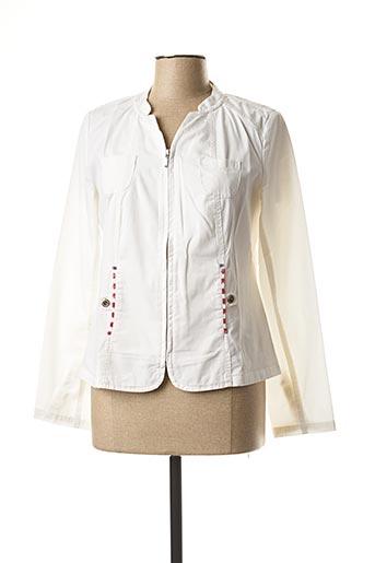 Veste casual blanc LES MARINS DE JAC JAC pour femme