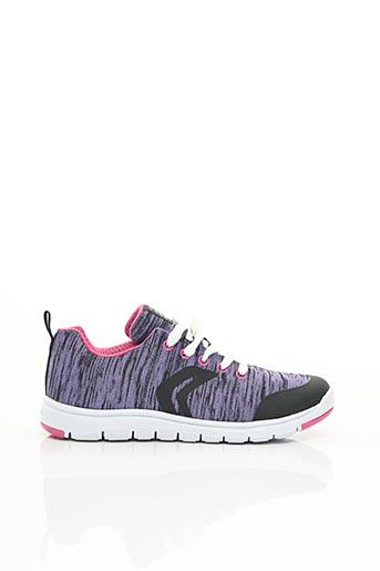 Baskets violet GEOX pour fille