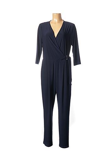 Combi-pantalon bleu FRANK LYMAN pour femme