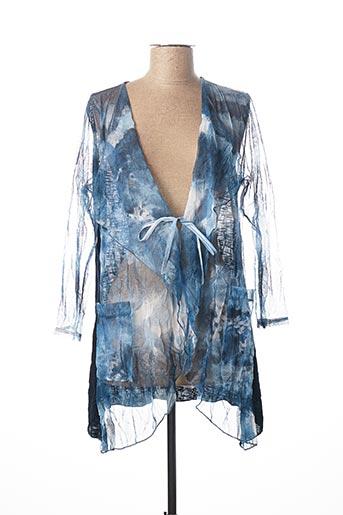 Veste casual bleu ME pour femme